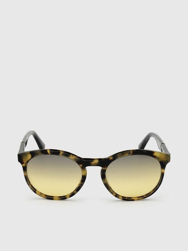 DL0310, Schwarz/Gelb - Sonnenbrille