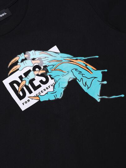 Diesel - TJUSTMCA1, Schwarz - T-Shirts und Tops - Image 3