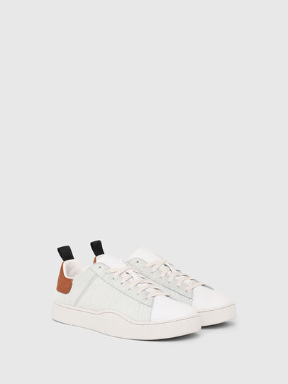 Diesel - S-CLEVER LOW LACE, Weiß/Braun - Sneakers - Image 2