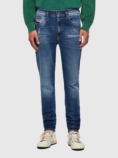 Diesel - D-Istort 009PU, Mittelblau - Jeans - Image 1