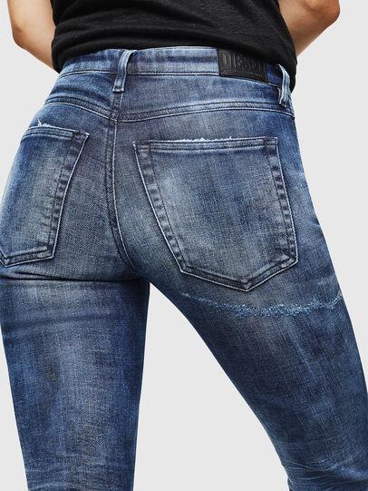 Diesel - Babhila 0096Q, Mittelblau - Jeans - Image 4