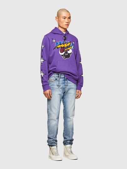 Diesel - CL-S-GIRK-HOOD-O1, Violett - Sweatshirts - Image 7