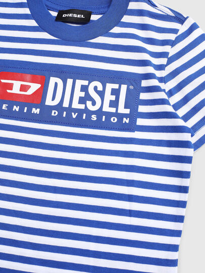 Diesel - TVIKB-R, Blau/Weiß - T-Shirts und Tops - Image 3