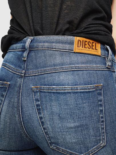 Diesel - Babhila 0098Z, Mittelblau - Jeans - Image 4