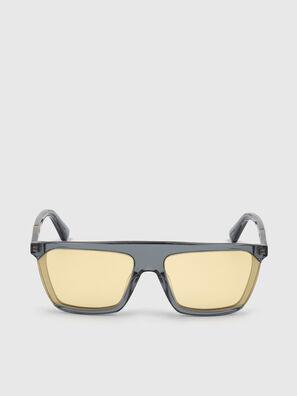 DL0323, Schwarz/Gelb - Sonnenbrille
