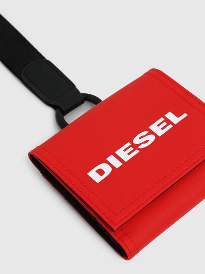 Diesel - YOSHINO LOOP, Feuerrot - Kleine Portemonnaies - Image 4