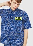 S-FRY-NP, Blau - Hemden