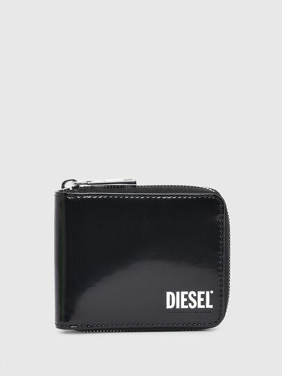 Diesel - HIRESH XS ZIPPI, Schwarz - Portemonnaies Zip-Around - Image 1