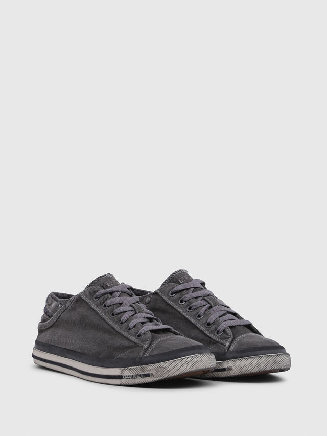 Diesel - EXPOSURE IV LOW  W, Silbergrau - Sneakers - Image 2