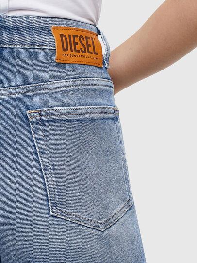 Diesel - D-Eiselle 0096X, Mittelblau - Jeans - Image 3