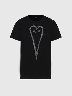 T-SILY-E53, Schwarz - T-Shirts