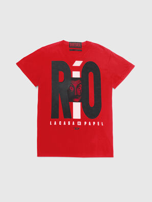 LCP-T-DIEGO-RIO, Rot - T-Shirts
