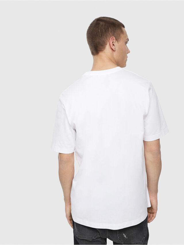 Diesel - T-JUST-Y4, Weiß - T-Shirts - Image 2