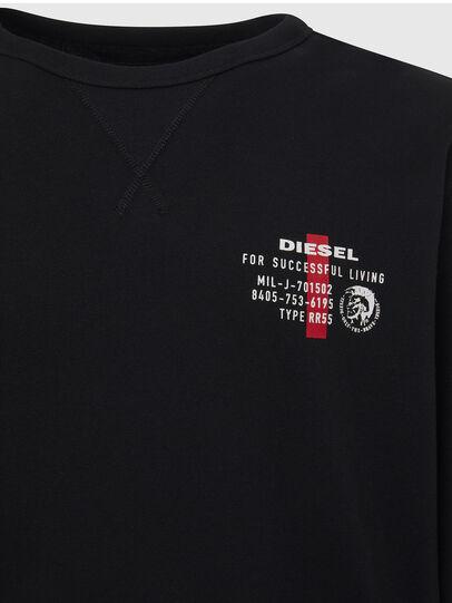 Diesel - UMLT-WILLY, Schwarz - Sweatshirts - Image 3