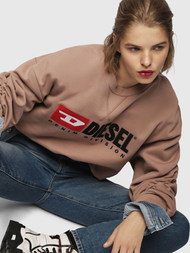 Diesel - F-ARAP, Gesichtspuder - Sweatshirts - Image 4