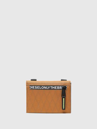 Diesel - THREEFOLD, Braun - Kleine Portemonnaies - Image 1
