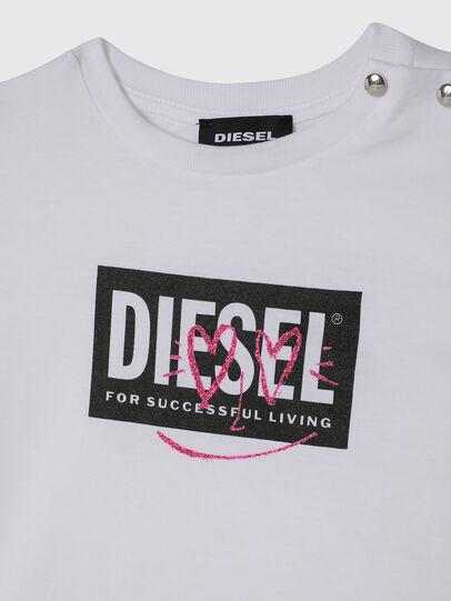 Diesel - TRIDGEB, Weiß - T-Shirts und Tops - Image 3