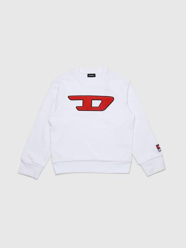 SCREWDIVISION-D OVER, Weiß - Sweatshirts