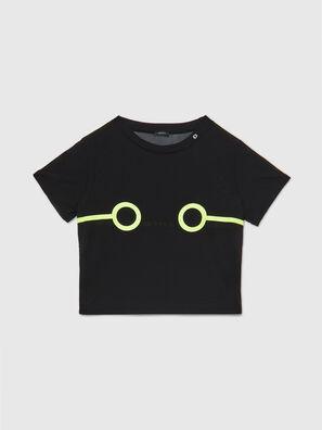 UFTEE-ROUNDFEM-M, Schwarz - T-Shirts