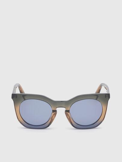 Diesel - DL0283, Blau/Gelb - Sonnenbrille - Image 1