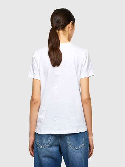Diesel - T-SILY-K10, Weiß - T-Shirts - Image 2
