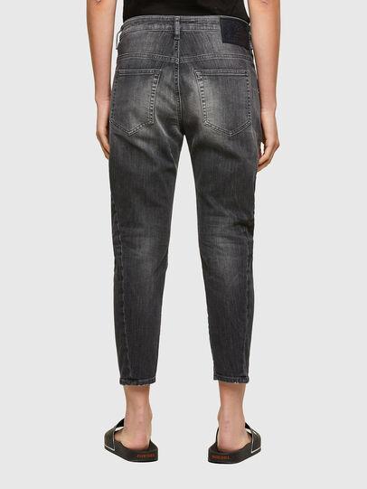 Diesel - Fayza JoggJeans® 009QT, Schwarz/Dunkelgrau - Jeans - Image 2