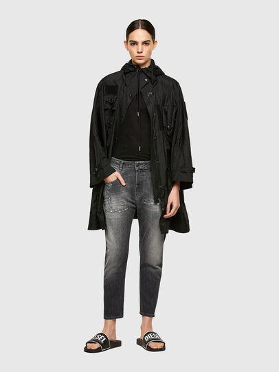 Diesel - Fayza JoggJeans® 009QT, Schwarz/Dunkelgrau - Jeans - Image 5