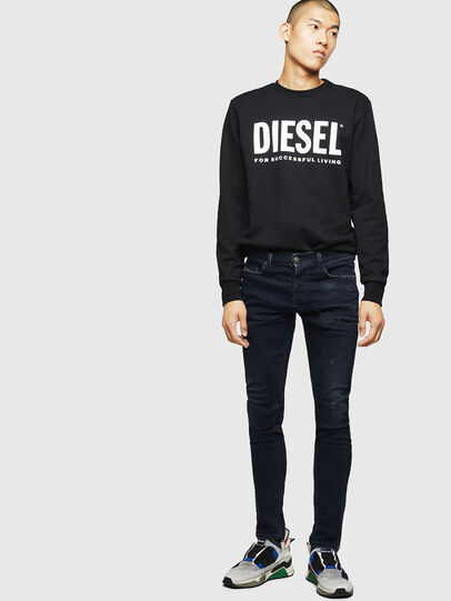 Diesel - Tepphar 069GM, Schwarz/Dunkelgrau - Jeans - Image 5