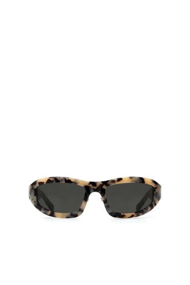 Rundum-Sonnenbrille mit sportlicher Ästhetik