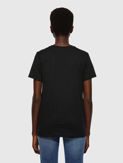 Diesel - T-SILY-B2, Schwarz - T-Shirts - Image 2