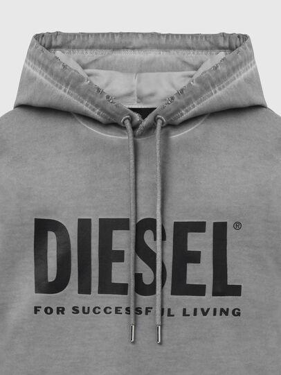 Diesel - S-GIR-HOOD-DIVISION-, Grau - Sweatshirts - Image 3
