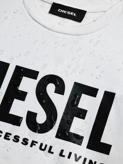Diesel - S-GIR-DIVISION-LOGO, Weiß - Sweatshirts - Image 6