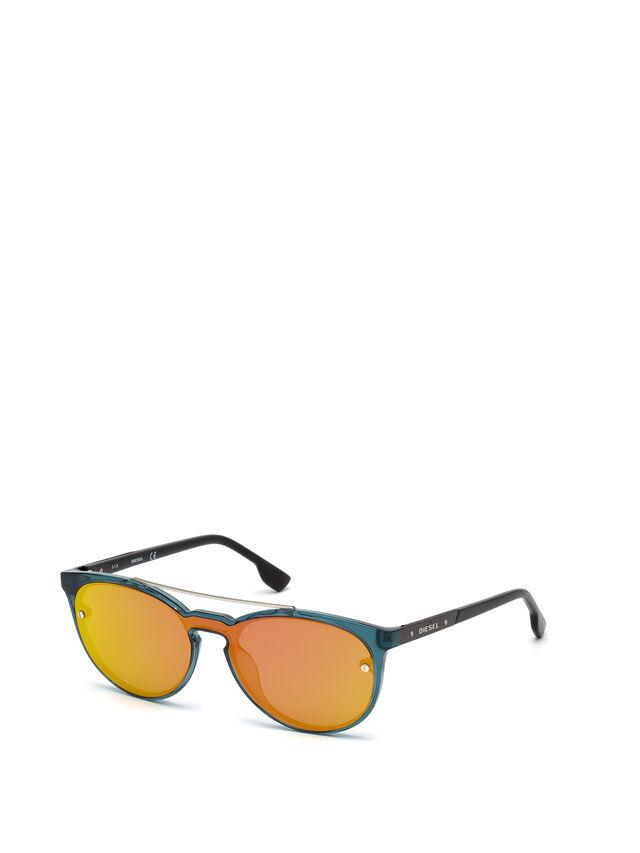 Diesel - DL0216, Blau/Orange - Sonnenbrille - Image 4