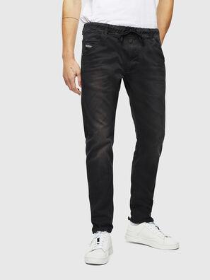 Krooley JoggJeans 0670M, Schwarz/Dunkelgrau - Jeans