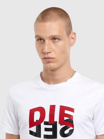 Diesel - T-DIEGOS-N22, Weiß - T-Shirts - Image 3