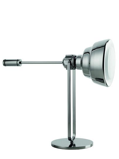 Diesel - GLAS TAVOLO CROMO, Silber - Tischlampen - Image 1