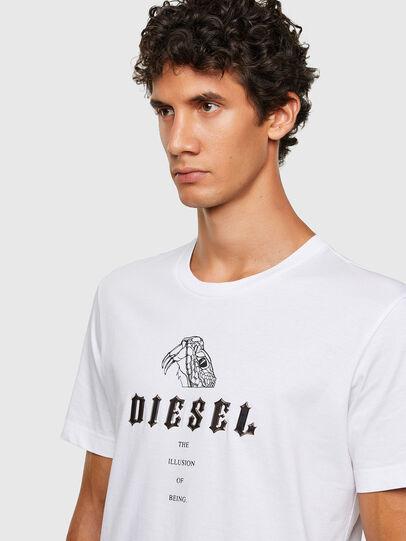 Diesel - T-DIEGOS-N30, Weiß - T-Shirts - Image 3