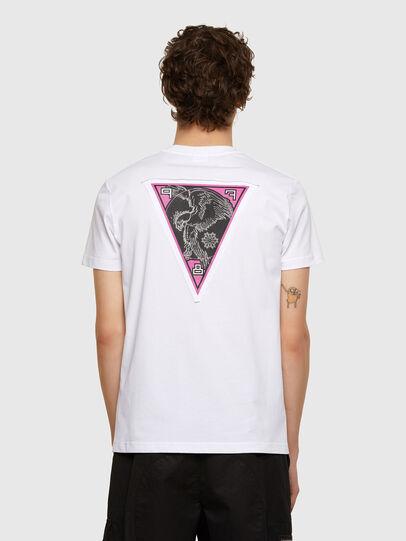 Diesel - T-DIEBIND-E1, Weiß - T-Shirts - Image 2