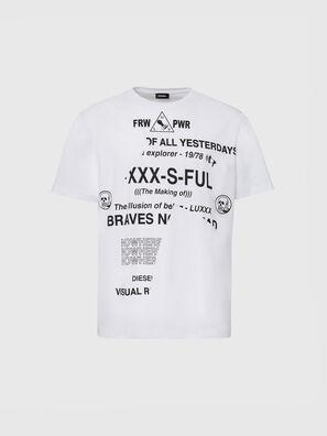 T-JUST-FOLDED, Weiß - T-Shirts