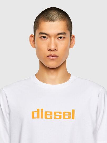 Diesel - T-JUST-N45, Weiß - T-Shirts - Image 3