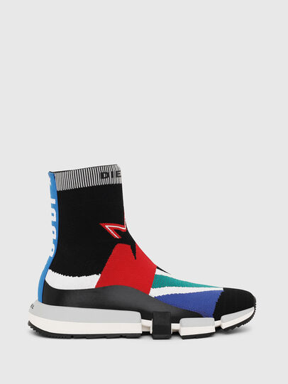 Diesel - H-PADOLA HIGH SOCK, Bunt - Sneakers - Image 1