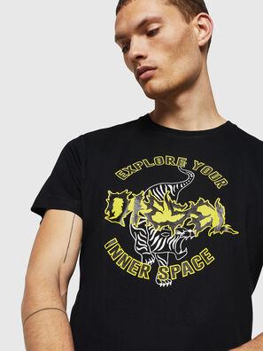 T-DIEGO-B15, Schwarz - T-Shirts