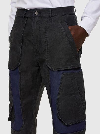 Diesel - D-Eluxerr JoggJeans® 0DDAV, Schwarz/Dunkelgrau - Jeans - Image 3