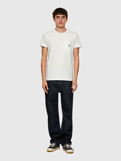 Diesel - T-WORKY-MOHI, Weiß - T-Shirts - Image 4