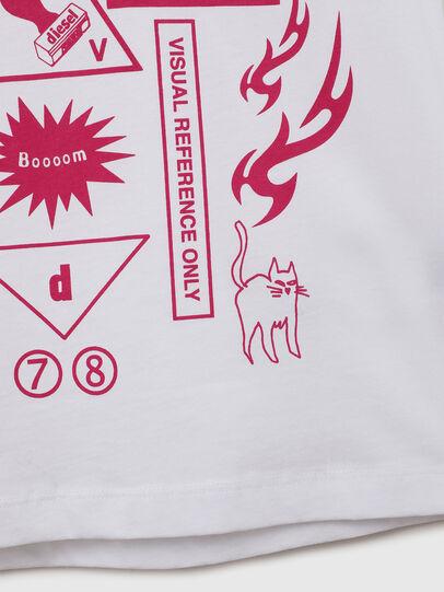 Diesel - TDARIAE, Weiß - T-Shirts und Tops - Image 4
