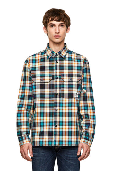 Green Label Oxfordshirt mit Karos