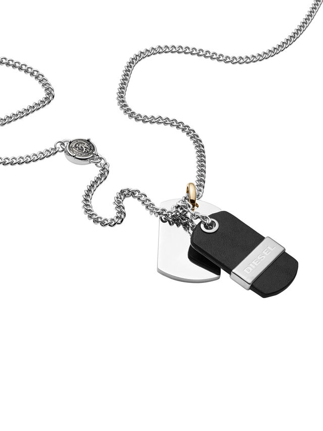 NECKLACE DX1084, Schwarz