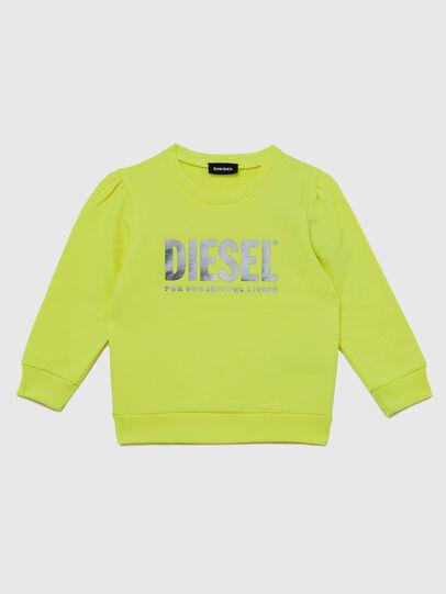 Diesel - SVELIB-R, Gelb - Sweatshirts - Image 1
