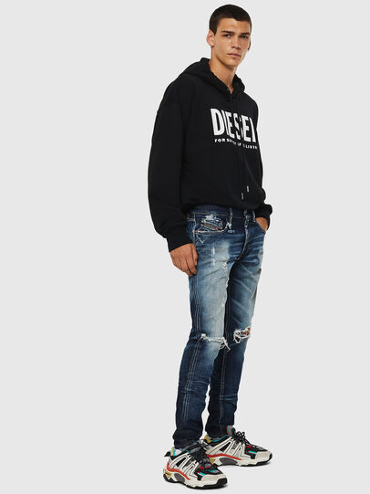 Diesel - D-Strukt 084AD, Mittelblau - Jeans - Image 6