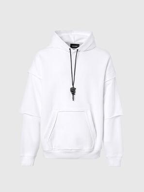 S-UBBER-A1, Weiß - Sweatshirts